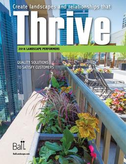 2015 Thrive Landscape Performers