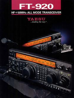 Yaesu FT - 920 HF150MHz All Mode Transceiver