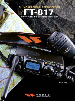 All Mode Portable Transceiver FT-817