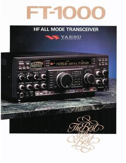 FT-1000 HF Transceivers/Amplifiers