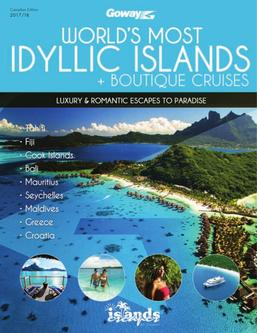 Worlds Most Idyllic Islands & Cruises 2017 (Canadian $)