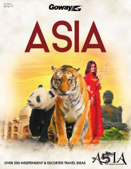 Asia Travel Planner 2017 (Canadian $)