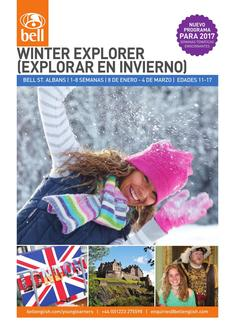 2017 Winter Explorer (Spanish)