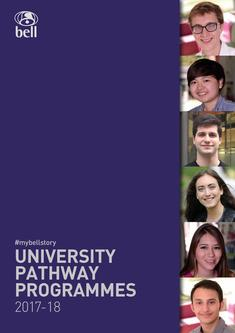 University Pathways courses 2017/2018