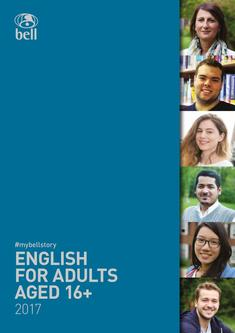 English courses for adults (ages 16+) 2017