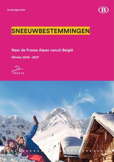 halys Snow timetables and prices Winter 2016 - 2017 (Dutch)