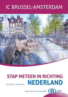 Our trains to the Netherlands journeys to 10/12/2016 (Dutch)