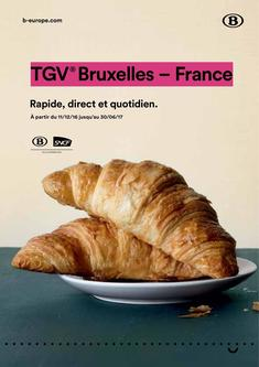 Timetables TGV Brussels-France Valid until 30/06/2017 (French)