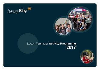 London Teenager Programme Sample Activity Programme 2017