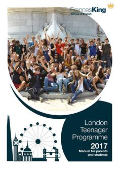 London Teenager Programme Manual for Parents and Students 2017