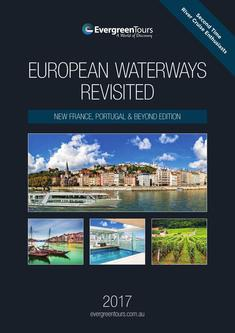 European Waterways for Second Time Cruises 2017