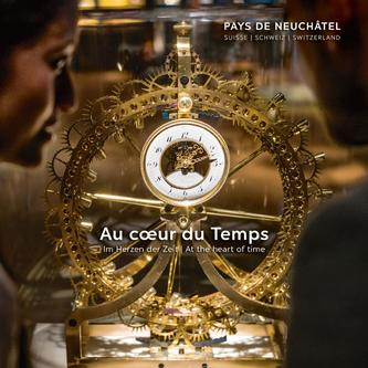 Pays de Neuchâtel - At the heart of time 2017