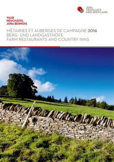Farm restaurants and country inns 2016 - Jura & Three-Lakes