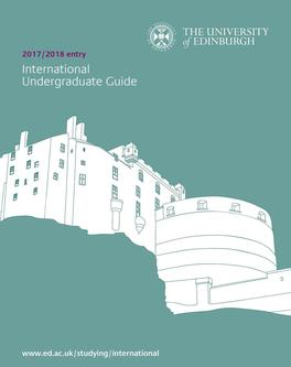 International Undergraduate Guide 2017