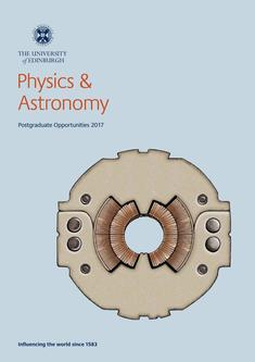 Physics and Astronomy 2017
