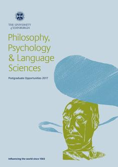 Philosophy, Psychology and Language Sciences 2017