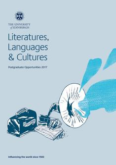 Literatures, Languages and Cultures 2017