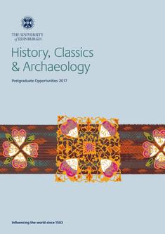 History, Classics and Archaeology 2017