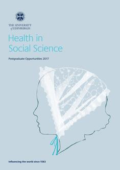 Health in Social Science 2017