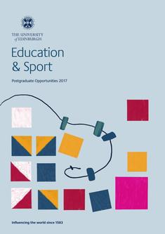 Education and Sport 2017