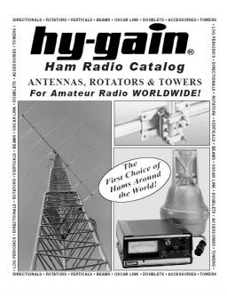 Hy-Gain Hamr Radio Catalog