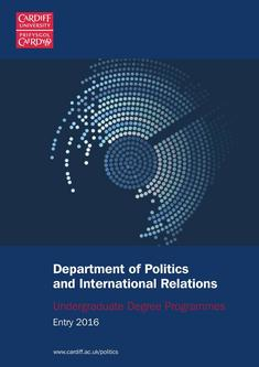 Politics and International Relations 2016