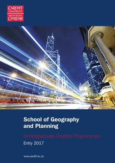 Geography and Planning 2017