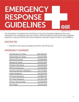 Emergency Response Guidelines