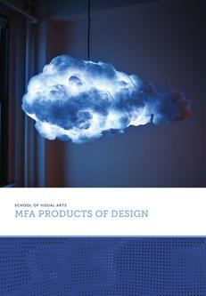 MFA Products of Design Dept. Brochure 2017