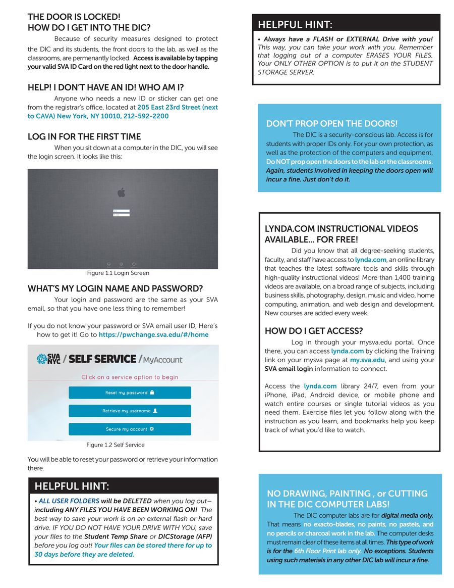 Page 2 of DIC Newsletter 2015-2016
