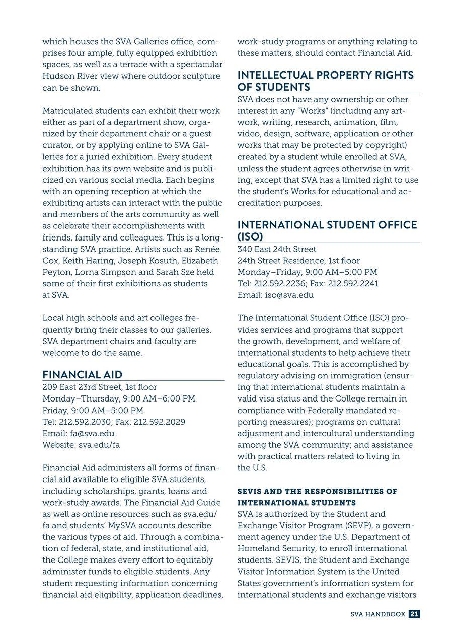Page 27 of 2016-2017 SVA Handbook