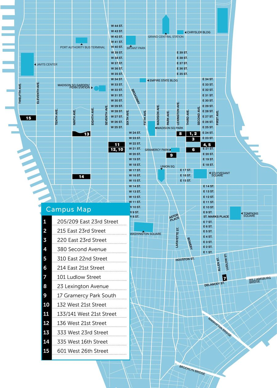 Continuing Education Student Guide by SVA NYC - School of Visual Arts