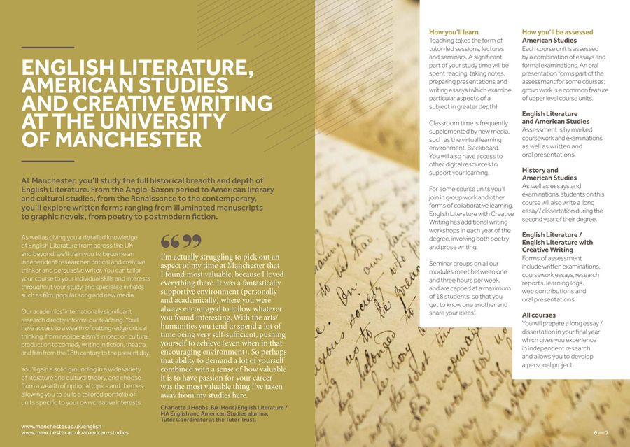 english literature with creative writing- university courses At bu's department of english & creative writing you can study of english literature in a small, friendly environment study works ranging from aeschylus's.