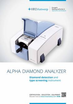 Alpha Diamond Analyzer 2017