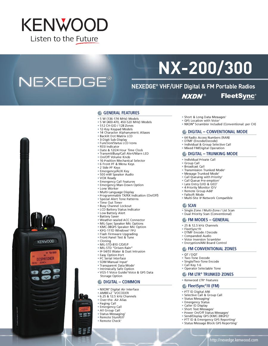 NX-200/300 by Kenwood Communications Division