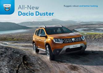 All-New Dacia Duster 2019