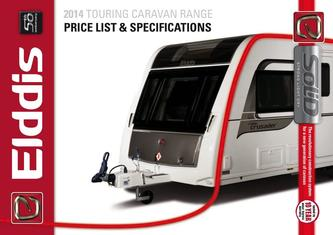 Elddis Tourer Price List 2014