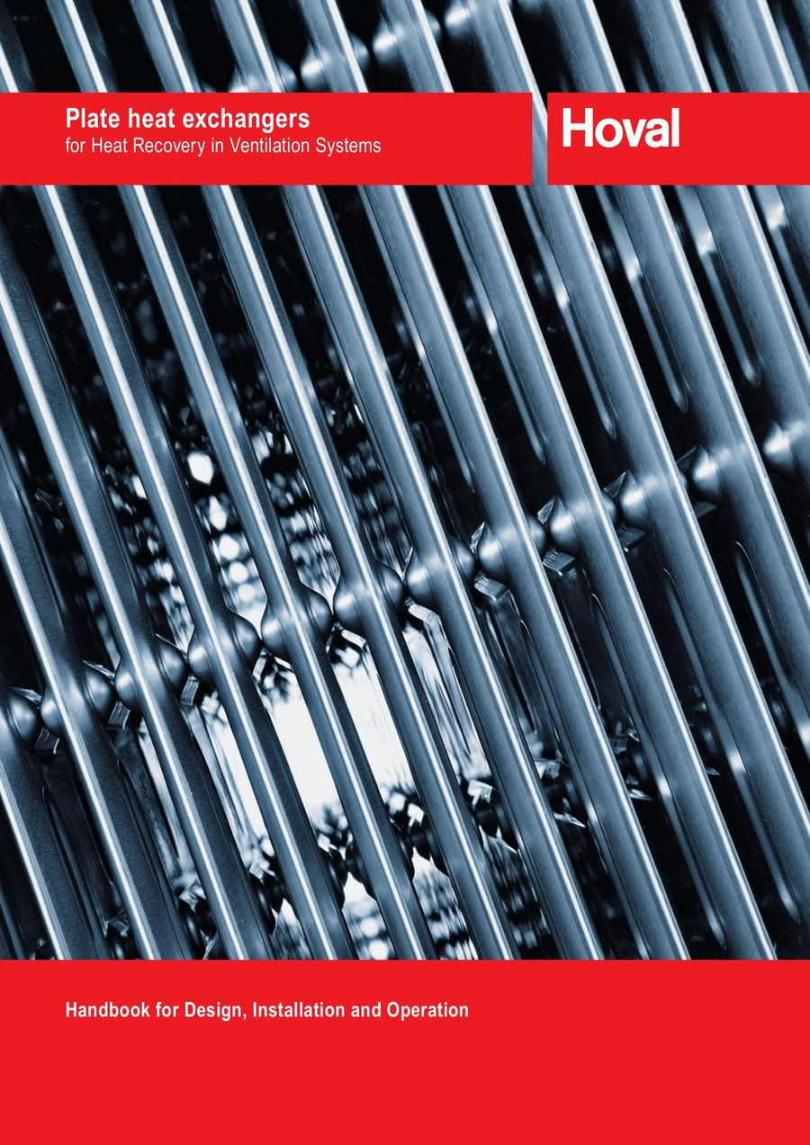 Plate heat exchangers 2015 by Hoval USA