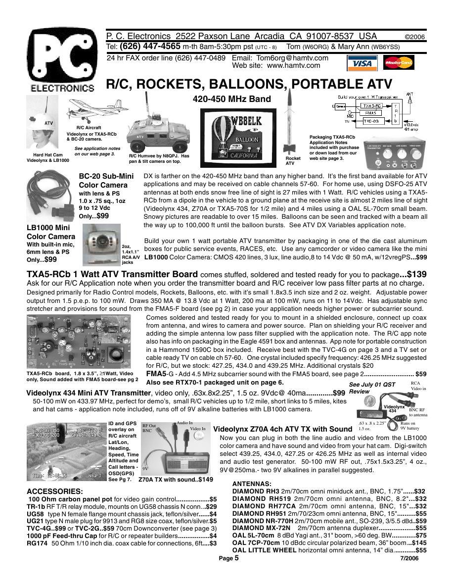 Page 5 of 2006 ATV Catalogue