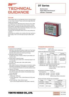Multifunctional Digital Differential Pressure Indicator/Transmitter 2017