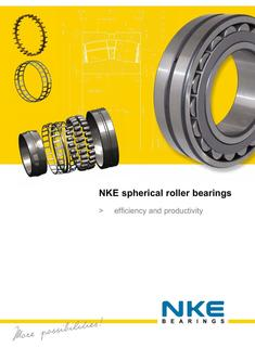 NKE spherical roller bearings SRB 2017