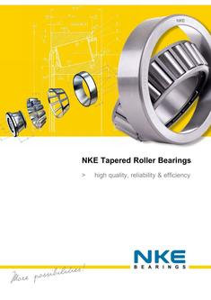NKE tapered roller bearings TRB 2016