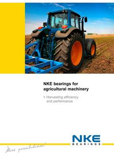 NKE bearings for agricultural machinery 2017