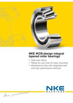 IKOS type tapered roller bearings 2017