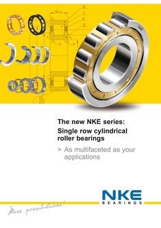 Single row cylindrical roller bearings 2017