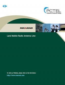 220 mhz mobile radios in Maxrad Mobile Radio Antenna Line by