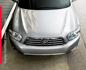 Toyota Certified Used Vehicles 2013