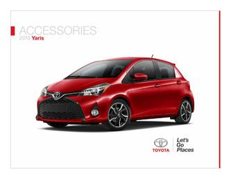 Yaris Accessories 2015