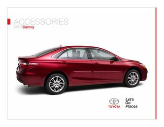 Camry Accessories 2015