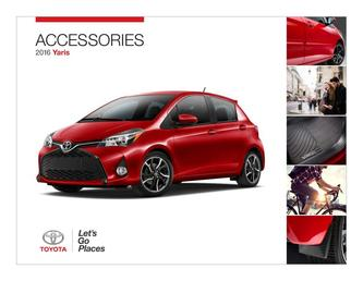 2016 Yaris Accessories